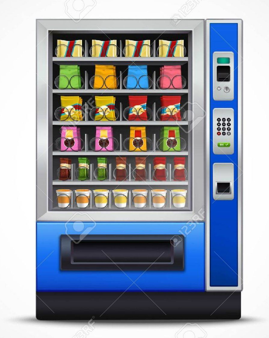Vending machine booster, distributeurs